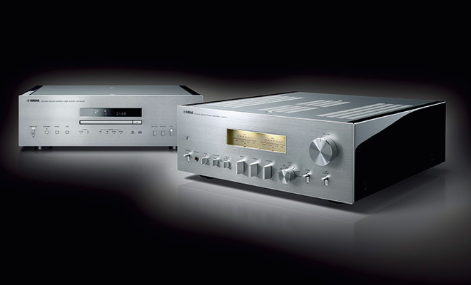 Yamaha A-S2100 Integrated Amp & CD-S2100 SACD Player