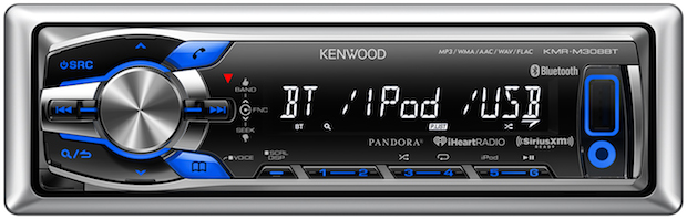 Kenwood KMR-M308BT Head Unit
