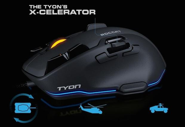 ROCCAT Tyon X-Celerator