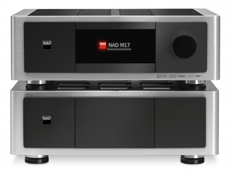 NAD M17 M27 Master Front