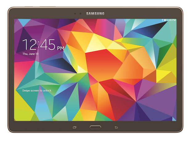 Samsung Galaxy Tab S 10.5 bronze