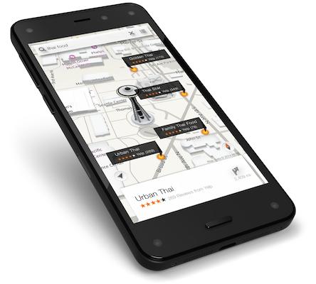 Fire Phone Maps Yelp