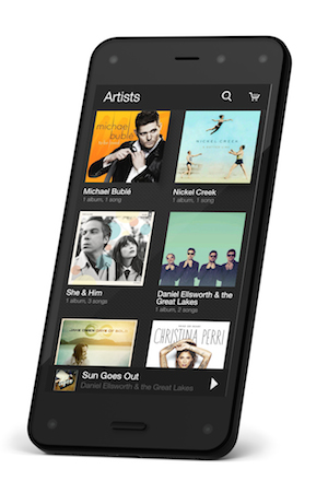 Fire Phone Music Library