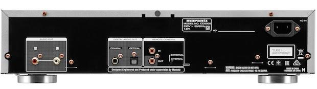 Marantz CD5005 CD Player back
