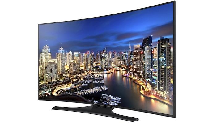 Samsung HU7250 Curved UHD TV