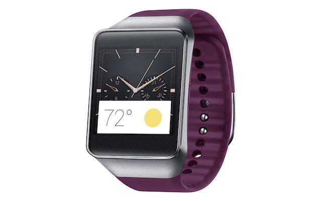 Samsung Gear Live Smartwatch Wine Red