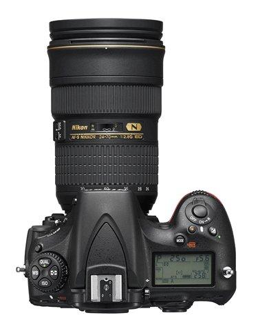 Nikon D810 HD-SLR Digital Camera Top