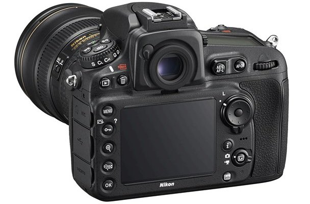 Nikon D810 HD-SLR Digital Camera Back