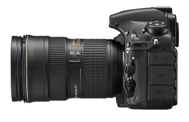 Nikon D810 HD-SLR Digital Camera Left