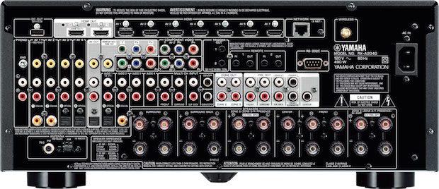 Yamaha AVENTAGE RX-A2040 back