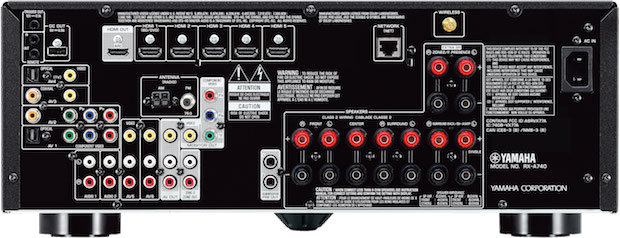Yamaha AVENTAGE RX-A740 back