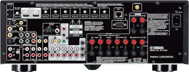 Yamaha AVENTAGE RX-A840 back