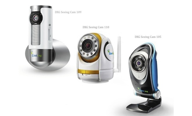 DXG Seeing.Cam Wi-Fi Video Monitoring Cameras